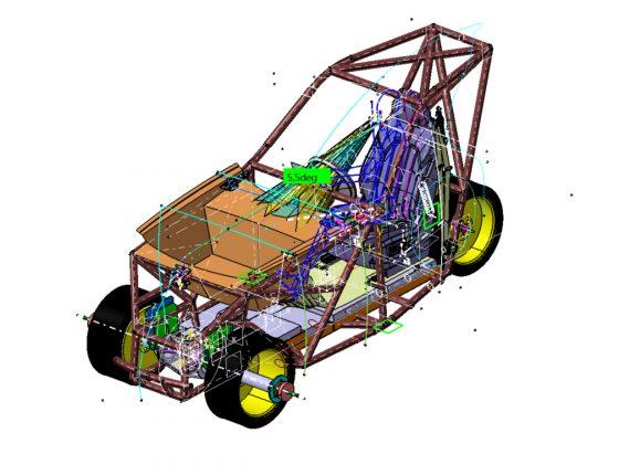 R&D – Prototipo 100% elettrico 3 ruote